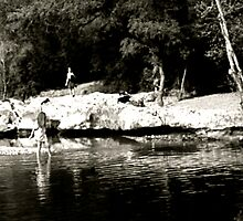 Summer Time Water Wading - Austin, TX by MalinRawl