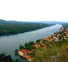 Stretches On - View from Mount Bonnell - Austin, TX by MalinRawl