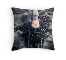 Dreams of Life [Mary McDonnell] Throw Pillow