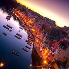 Procida sunset by PhotosOnTheRoad