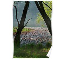 Jubilee Lake,Daylesford Poster
