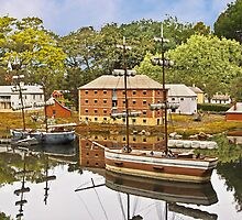 Old Hobart Town Model Village, Richmond by TonyCrehan