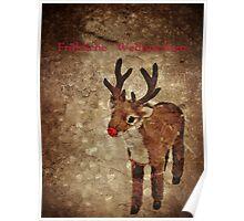 Fröhliche Weihnachten (Rudy-Version) Poster