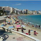 Calpe on the Beach by Janone