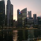 Marina Bay,Singapore  by Iani
