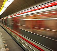 Prague Metro by fotopro