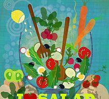 I love salad by Elisandra