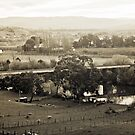 Old Railway Bridge, DuskBushy Park, Tasmania by Brett Rogers