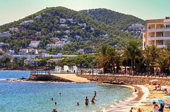 Santa Eulalia Beach by Tom Gomez