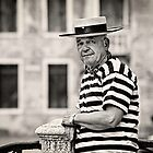 Waiting Gondolier by vividpeach