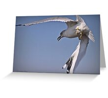 Angle Of Attack Greeting Card