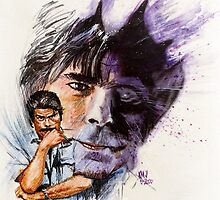 Stephen King by kenmeyerjr