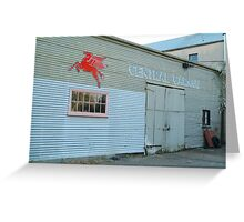 Clunes Garage Greeting Card