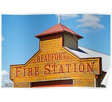 Beaufort Fire Station Poster