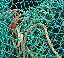 Around the Harbours - Green Fishing Net by kalaryder