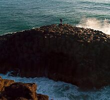 Giant's Causeway, Fingal Heads, NSW by Odille Esmonde-Morgan