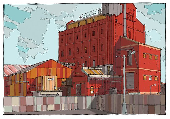 Harts Mill again by David  Kennett
