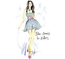 She Comes In Colors Photographic Print