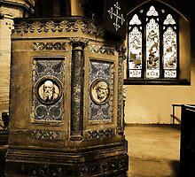 Pulpit, St John The Baptist, Penshurst by Dave Godden