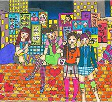 Harijuku Girls by Laura Hutton