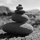 Five Rock Zen Meditation by David Alexander Elder