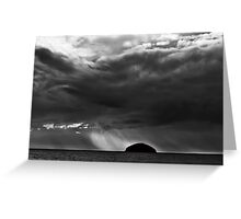 Storm over the Craig Greeting Card