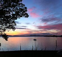 Sunrise over the River Derwent 18/9/2011 by Jeffrey Sims