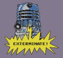 Time And Relative Pixels: Dalek by Riott Designs
