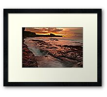 Tantallon Sunset Framed Print
