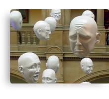 Hanging Heads Canvas Print