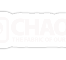 Chaos: The Fabric of Our Lives Sticker