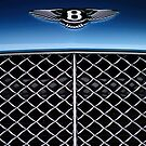 2007 Bentley Continental GTC Convertible Hood Emblem by Jill Reger