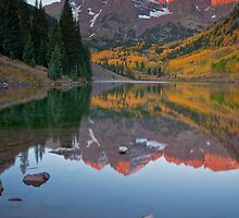 Maroon Bells, Colorado by Ryan Wright