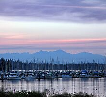 Blues Eastbay Sunset by Sabrina Thompson