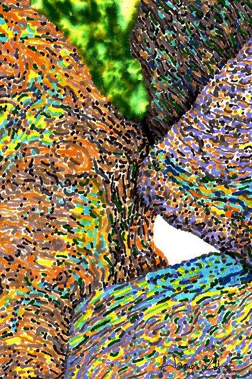 c7-Bright Boulders Upclose by James Lewis Hamilton
