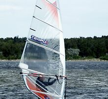 Windsurfer by waxyfrog