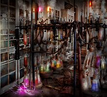 Mad Scientist - Essence of life machine by Mike  Savad