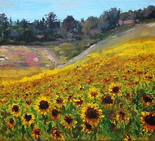 Sunflowers by Andy Farr