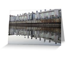 Architecture on the Milwaukee River Greeting Card