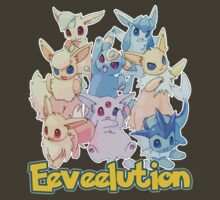 Eeveelution by MissCake