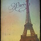 Sweet Eiffel Tower 4 by Norella Angelique