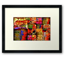 Kinetic WORLD Quilt Framed Print