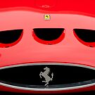 1963 Ferrari 250 GTO Hood Emblem by Jill Reger