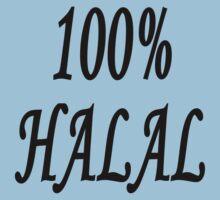 100% Halal by stuwdamdorp