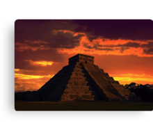 Mystical Mayan Canvas Print