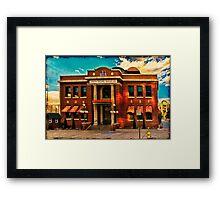 Union Pacific Railroad Framed Print