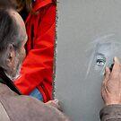 Street artist by Yelena Rozov