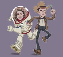 Time Story (Doctor Who / Toy Story) - Design #2 Kids Clothes
