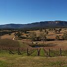 Megalong Valley Panorama by AnthonyWilson