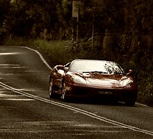 Ferrari On the Bends by AnthonyWilson